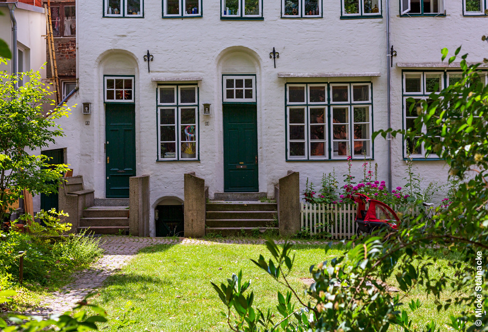 Hutters hus. Lübeck, Tyskland.