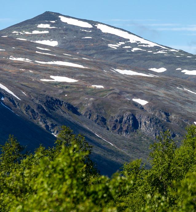 Berg i Vistasdalen, Nikkaluokta.