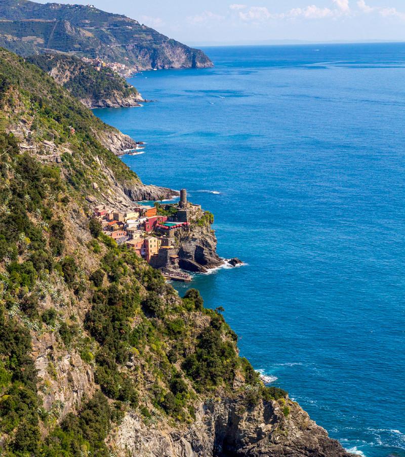 Cinque Terre, Italien. Klicka på pilarna i vänstra hörnet för större version av bilden.