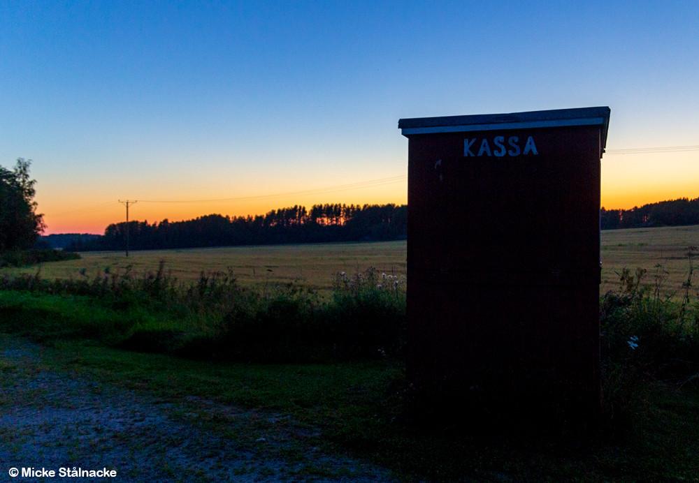 Utanför Vörå, Finland.