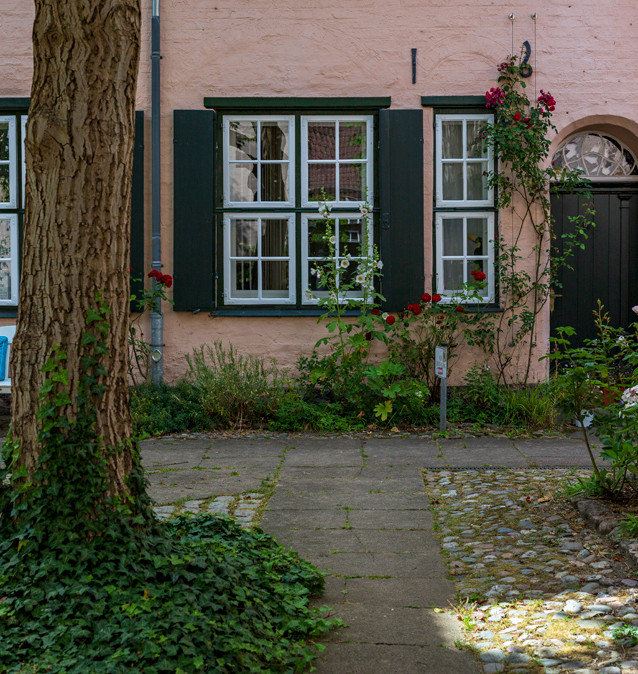 Van Helsings hem. Lübeck, Tyskland.