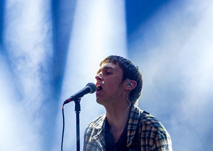 Thomas Stenström på Kirunafestivalen (2019).
