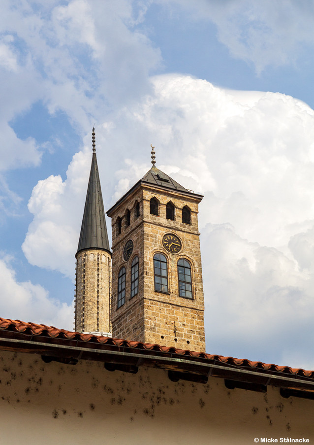 Sarajevo, Bosnien Hercegovina. Klicka på pilarna i vänstra hörnet för större version av bilden.