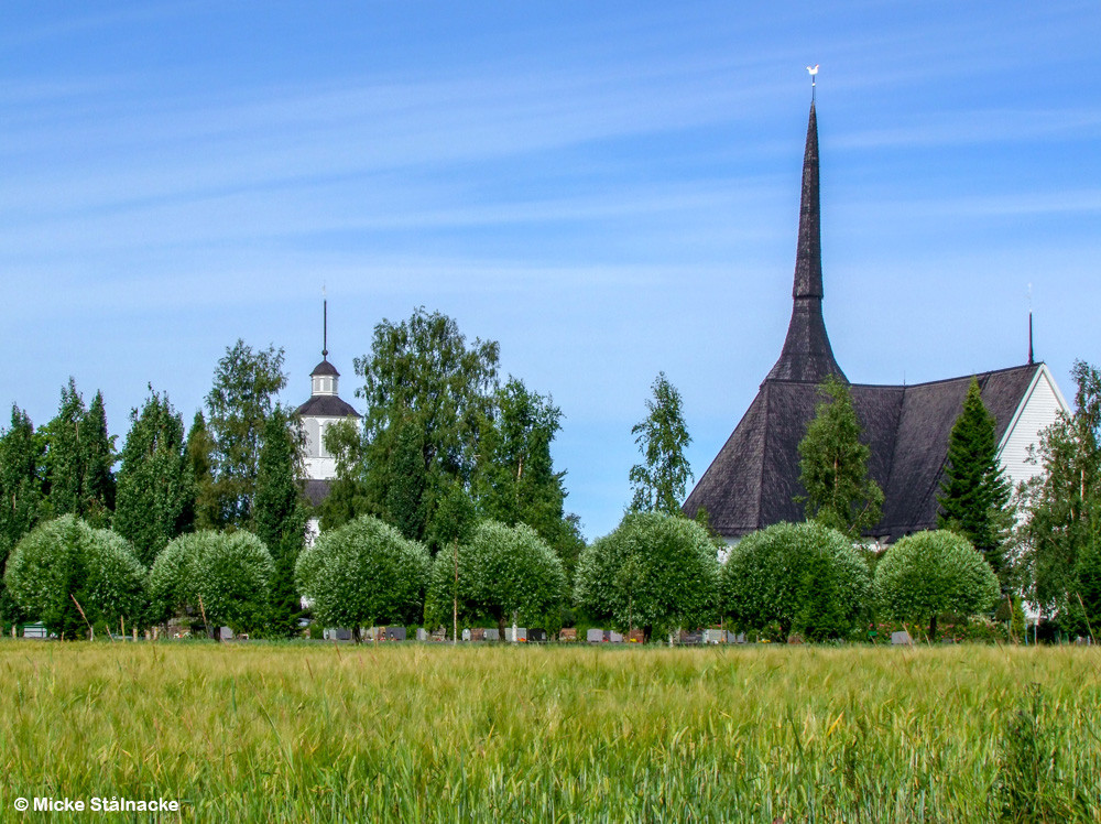 Kyrkan i Vörå, Finland.