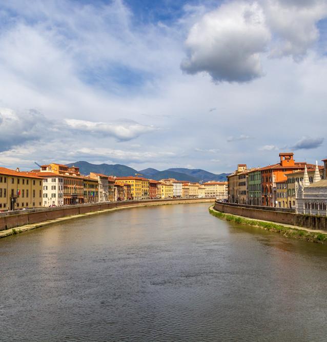 Pisa, Italien.