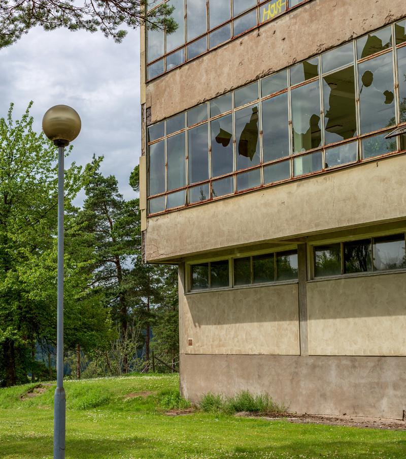Sjögunnarsbo sanatorium, Västergötland, numera rivet.