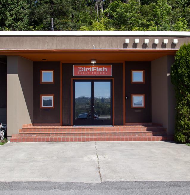"""Det gamla sågverkskontoret i Snoqualmie som användes både i pilotavsnittet av originalserien samt i """"The Return""""."""