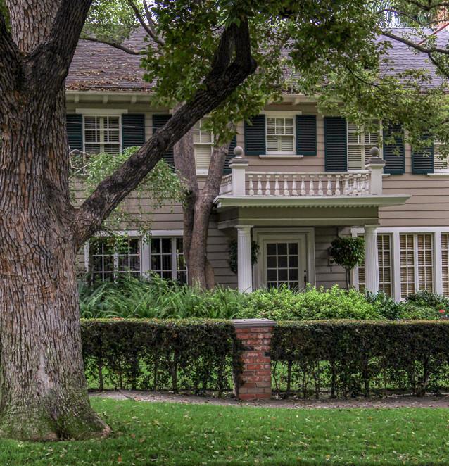 "Familjen Doyles hus i John Carpenters ""Halloween"" (1978). Hollywood, Kalifornien, USA."