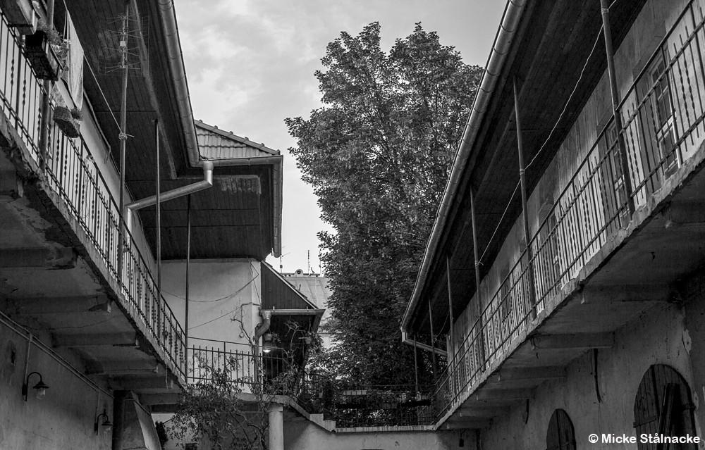 """Miljö ur Steven Spielbergs """"Schindler's List"""" (1993) i Krakow, Polen."""