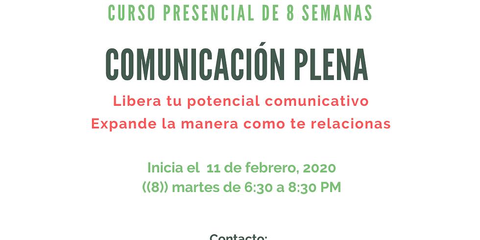 Curso básico de comunicación plena (No Violenta)