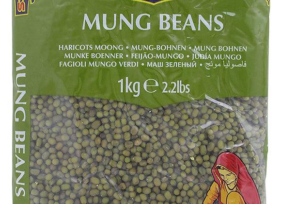 TRS Whole Mung (Moong) Beans 1 Kg