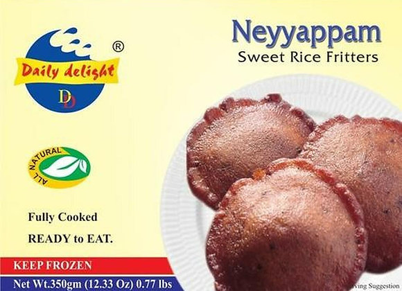 Daily Delight Frozen Neyyappam  350 Gm