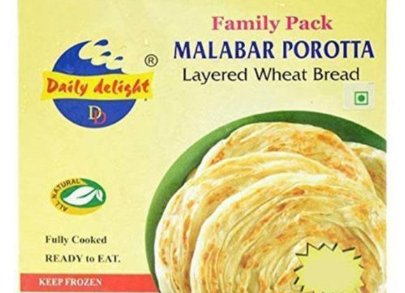 Daily Delight Malabar Porotta Family Pack (10 pieces)