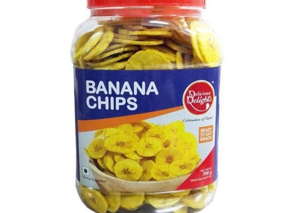 Daily Delight Banana Chips (Jar) 250 gm