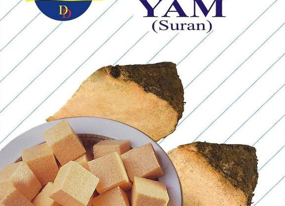 Daily Delight Frozen Yam (cut, cleaned) 400 gm