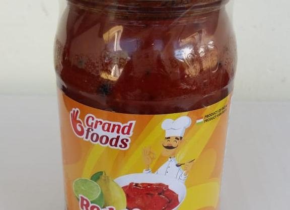 Grand Foods Lime Pickle Red 400 gm