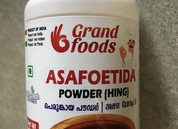 Grand Foods Asafoetida (Hing/Kaayam) Powder 100 gm