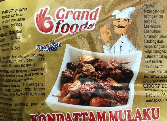 Grand Foods Curd (Kondattam) Chilly 200 gm