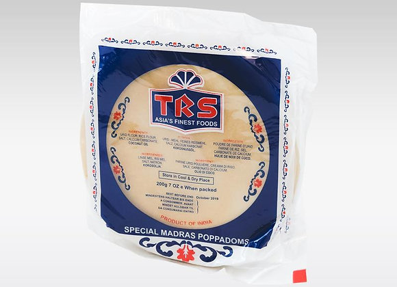 TRS Madras Papad Plain 200 Gm