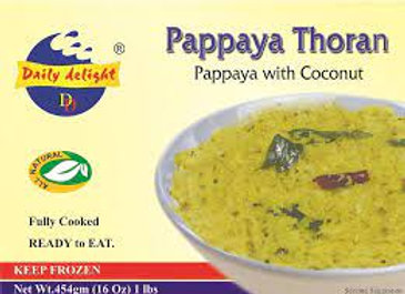 Daily Delight Frozen Pappaya Thoran 454 gm