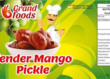 Grand Foods  Tender Mango Pickle 200 gm