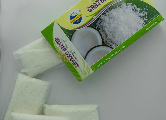 Daily Delight Frozen Grated Coconut 4x100 gm