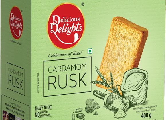 Delicious Delight Cardamom Rusk 400 Gm