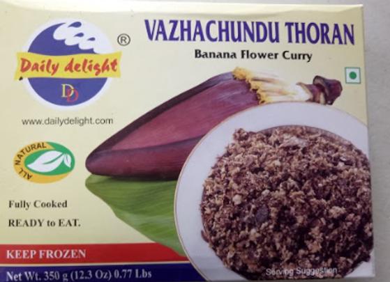 Daily Delight Frozen Vazhachundu (koomb) Thoran 350 gm