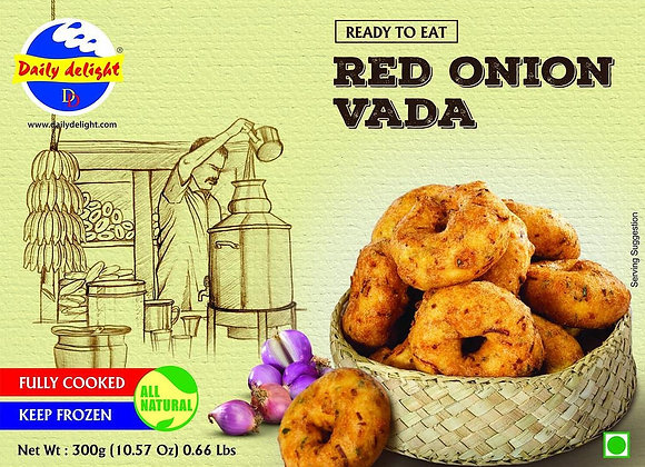 Daily Delight Frozen Red Onion Uzhunnu Vada 300 gm