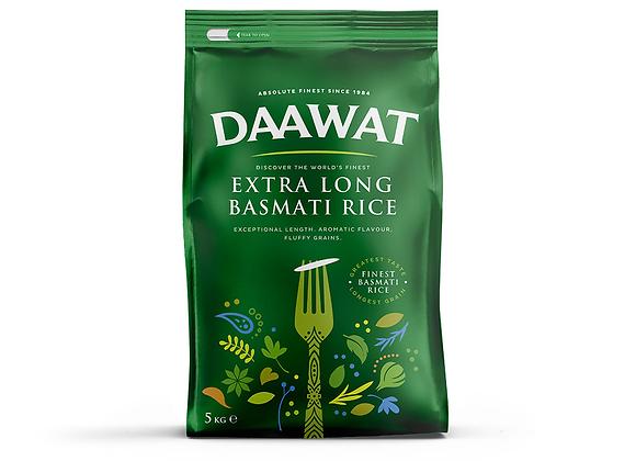 Daawat Basmati (Extra Long) Rice 5 Kg
