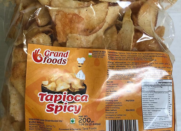 Grand Foods Tapioca (Kappa) Chips (Pouch) 200 gm
