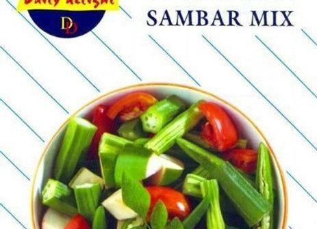 Daily Delight Frozen Sambar Mix 400 gm