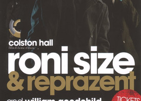 Roni Size Reprazent | Live at Colston Hall