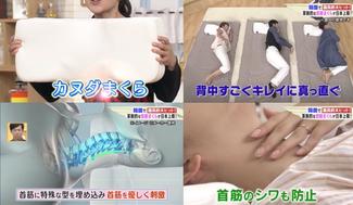カヌダまくら日テレ[女神のマルシェ][イトーヨーカドー]プロジェクト!