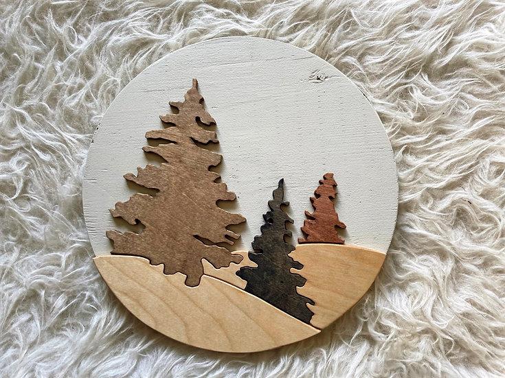 Boho Treescape