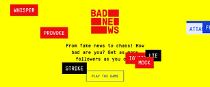 In the shoes of an online troll: 118 000 citizens in the Baltics played the BadNews game