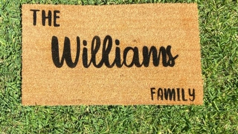 Family Welcome Mat
