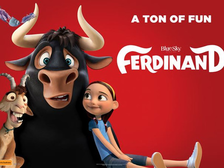 Film review: Ferdinand; A heartwarming tale about courage & compassion