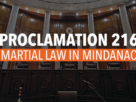 No need to extend martial law in Mindanao -senators