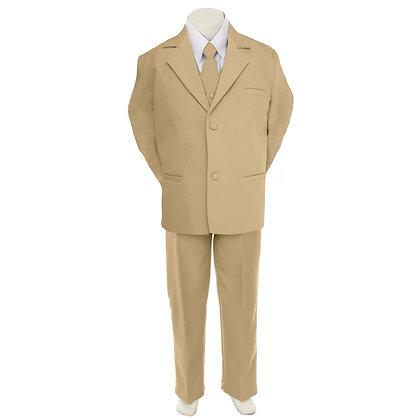Khaki Boy Suit (5-20)