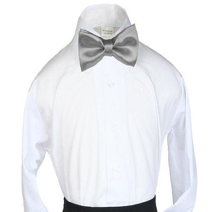 503 Silver Bow Tie (S-20)