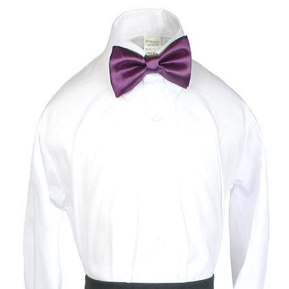503 Eggplant Bow Tie (S-20)