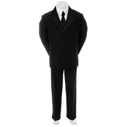 BY013 Black Boy Suit (5-20)