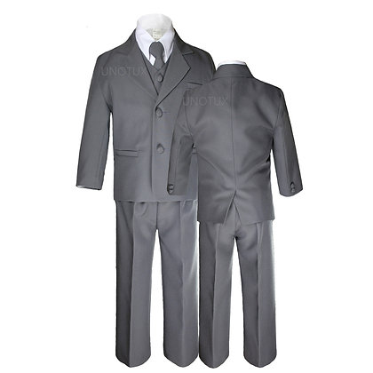 Dark Gray Boys Formal Suit (5-14)