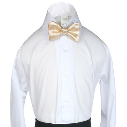 503 Light Champagne Bow Tie (S-20)