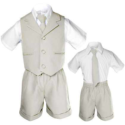 BT222 Shell Boys Vest Shorts Sets S-4T