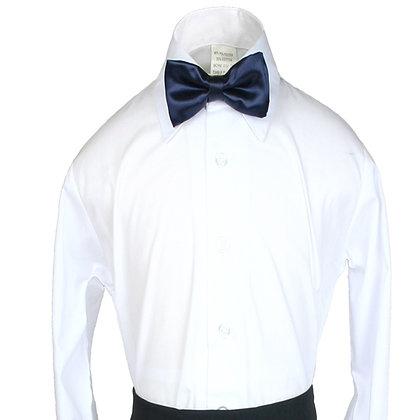 503 Navy Blue Bow Tie (S-20)