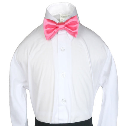 503 Coral Red Bow Tie (S-20)