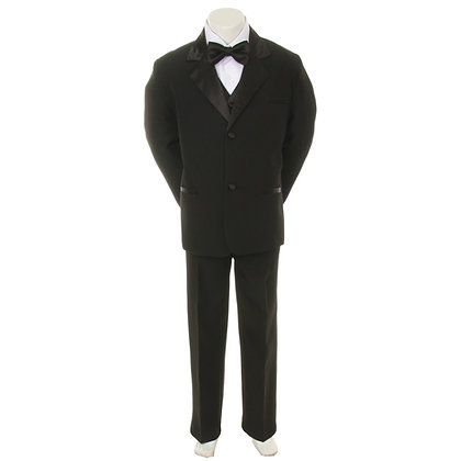 BY010 Black Boy Tuxedo (S-4T)