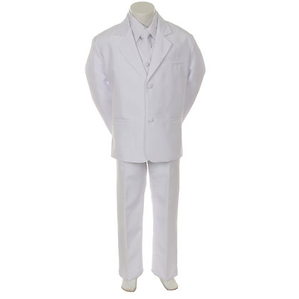 BY013 White Boy Suit (5-20)